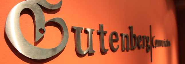 Advice from the communications experts at Gutenberg