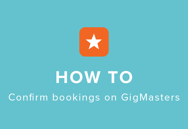 Confirming Bookings