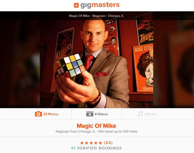 Magic of Mike