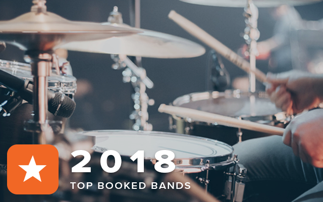 Top Booked Bands 2018