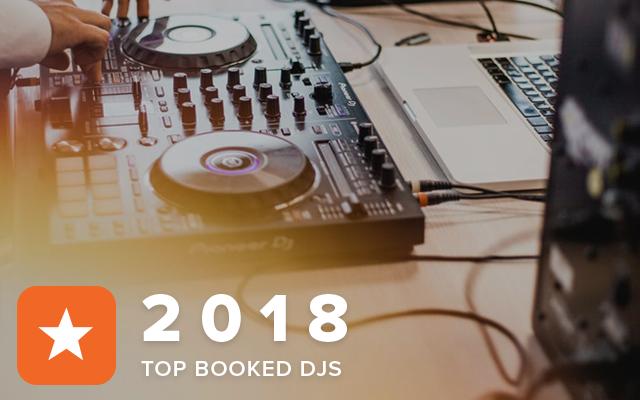Top Booked DJs 2018
