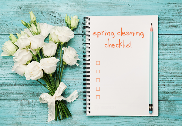 GigMasters Spring Cleaning Checklist
